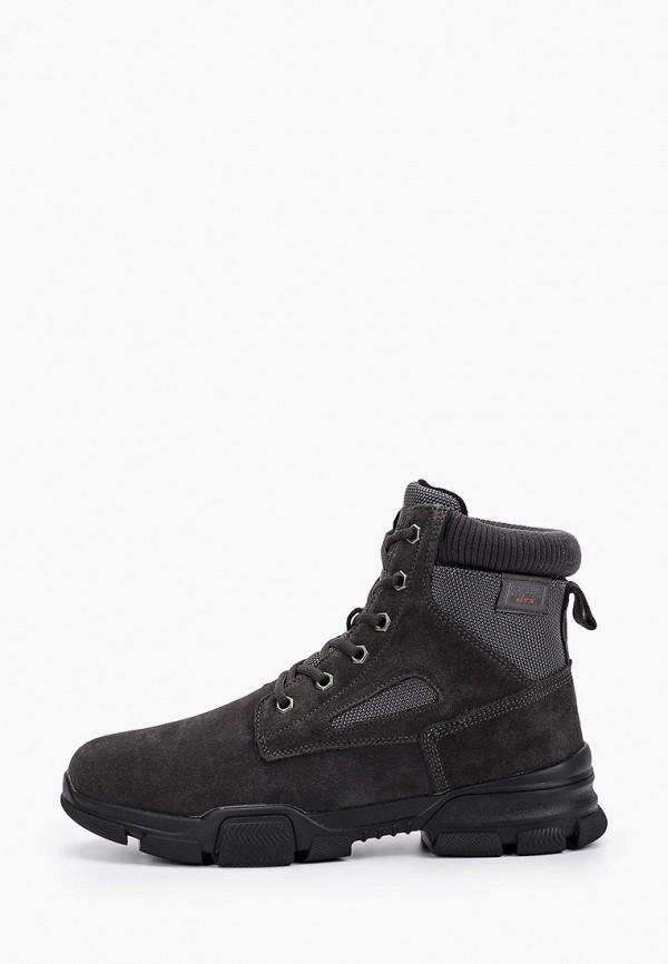 мужские ботинки strobbs, серые