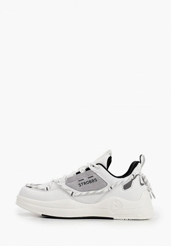 мужские низкие кроссовки strobbs, белые