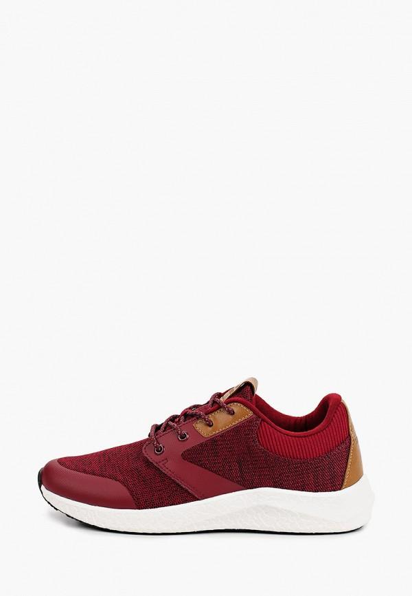 мужские низкие кроссовки strobbs, бордовые