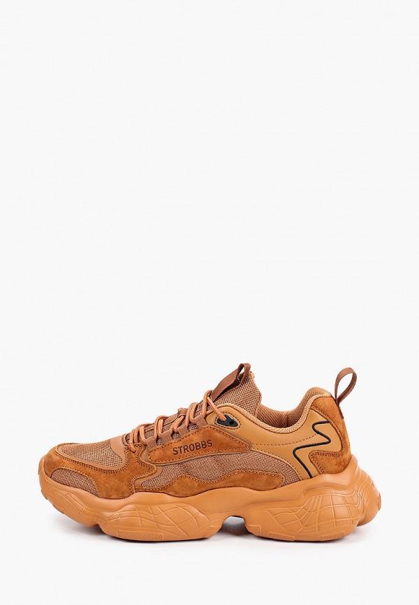 мужские кроссовки strobbs, оранжевые