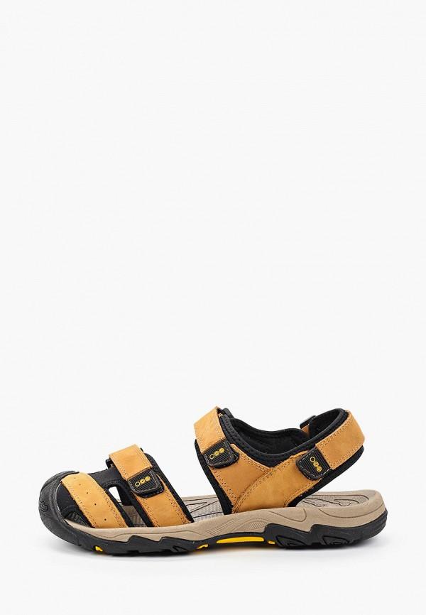 мужские сандалии strobbs, бежевые