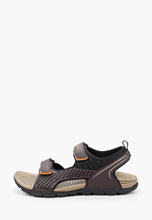 мужские сандалии strobbs, коричневые