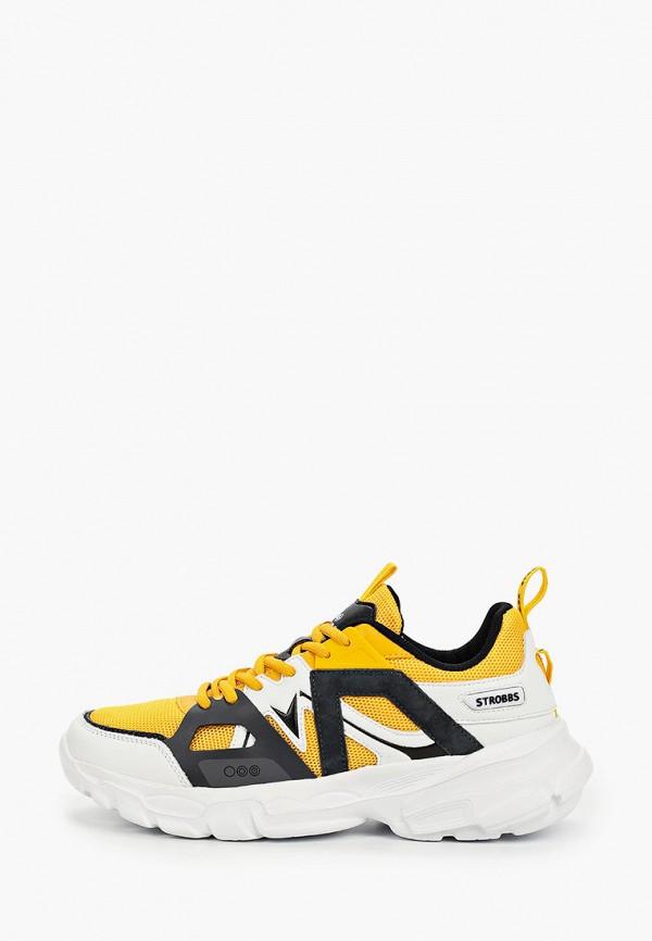 мужские низкие кроссовки strobbs, желтые