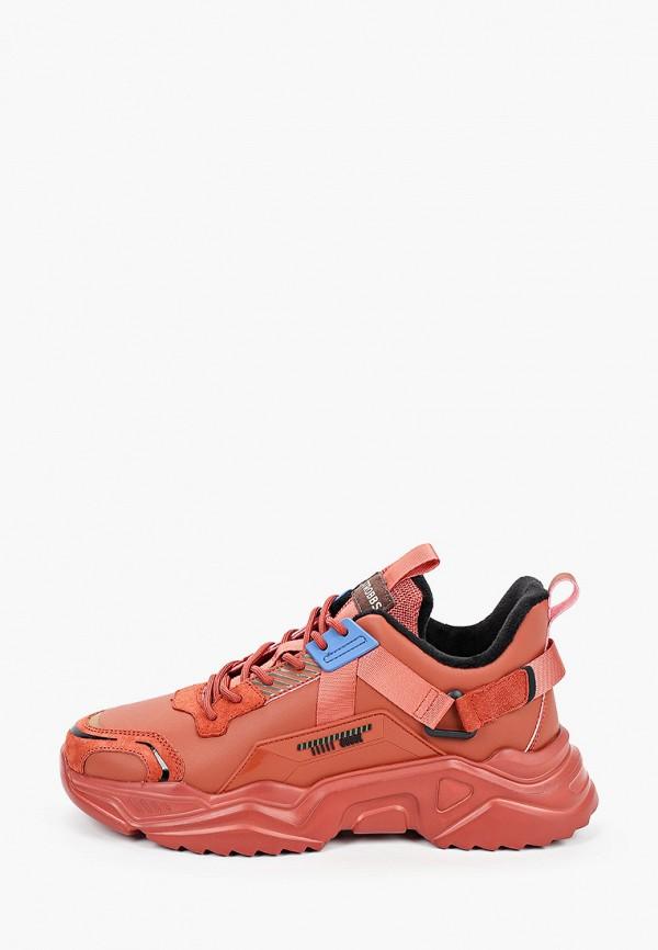 мужские кроссовки strobbs, розовые