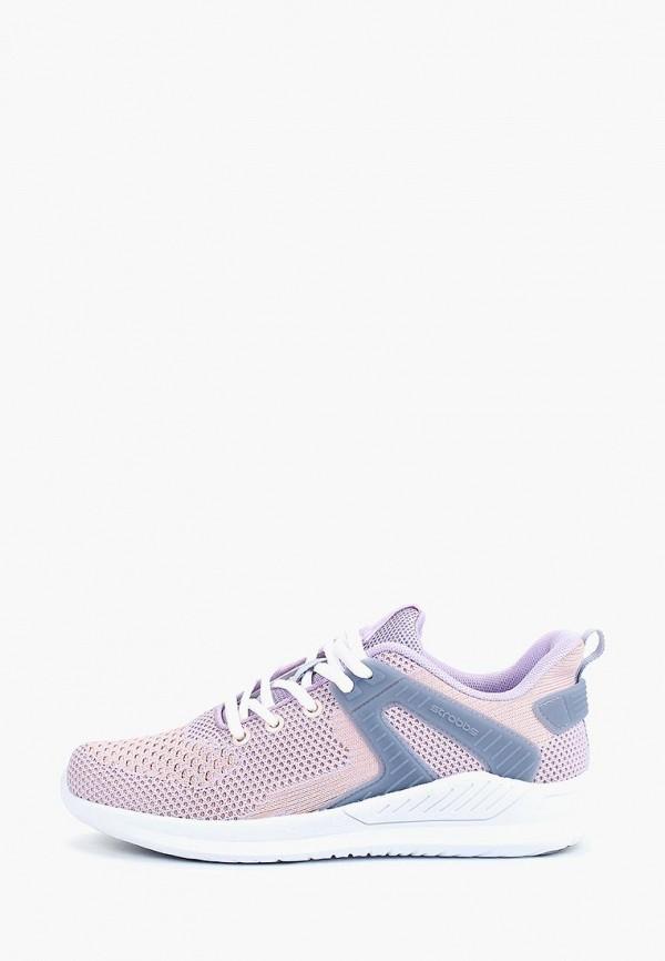 женские кроссовки strobbs, фиолетовые