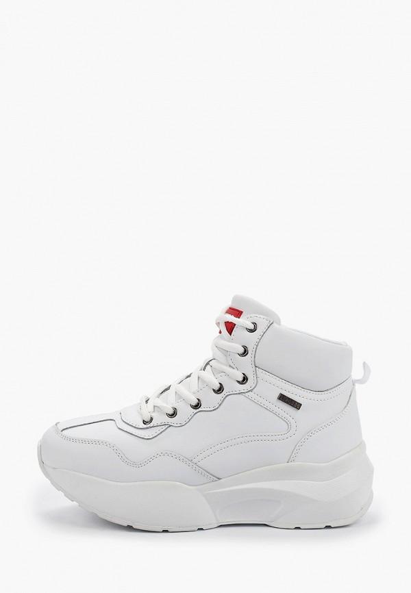 Фото - женские кроссовки Strobbs белого цвета