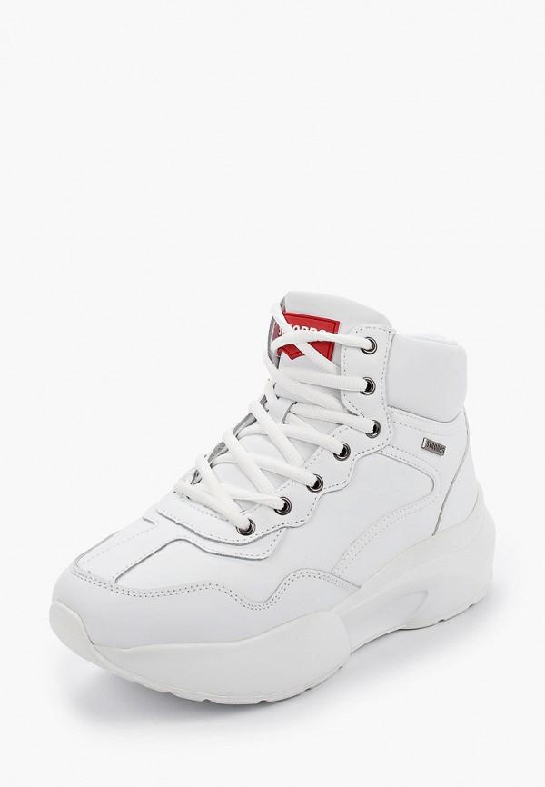 Фото 2 - женские кроссовки Strobbs белого цвета