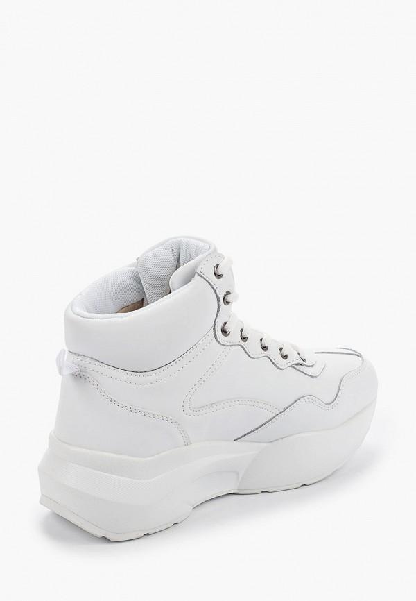 Фото 3 - женские кроссовки Strobbs белого цвета