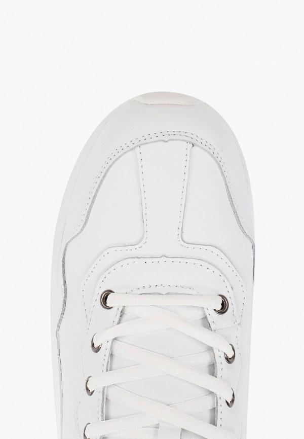 Фото 4 - женские кроссовки Strobbs белого цвета