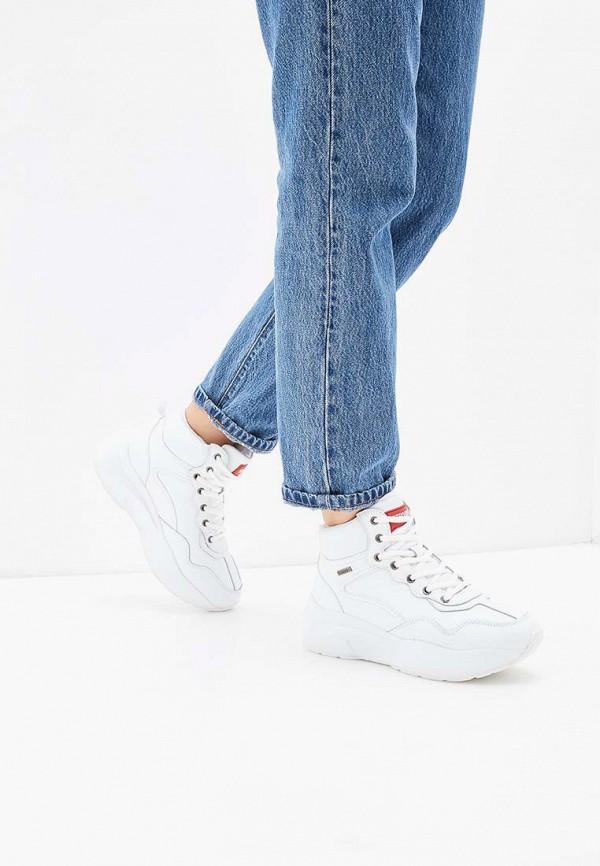 Фото 7 - женские кроссовки Strobbs белого цвета