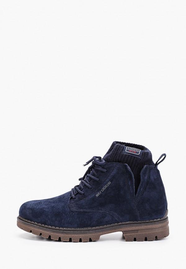 женские ботинки strobbs, синие