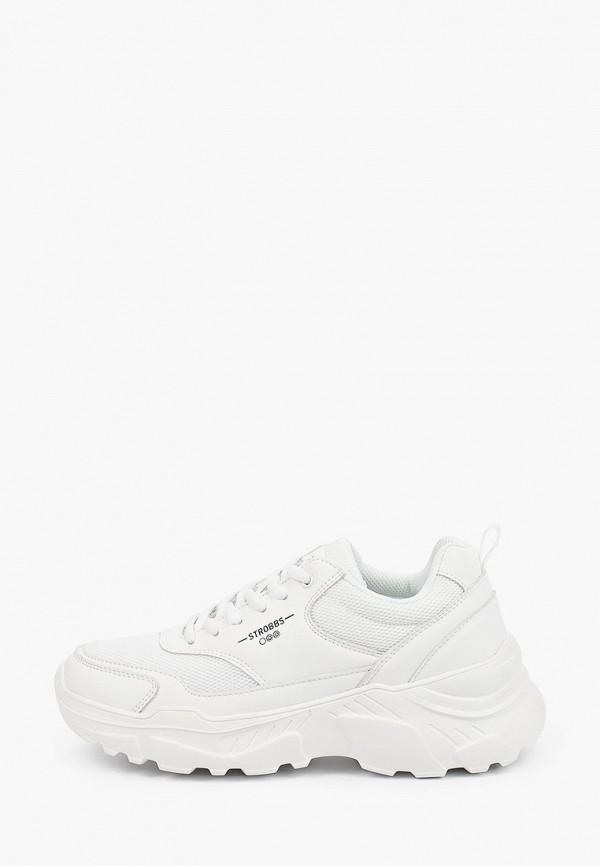 женские кроссовки strobbs, белые