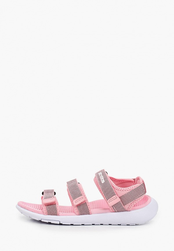 женские сандалии strobbs, розовые