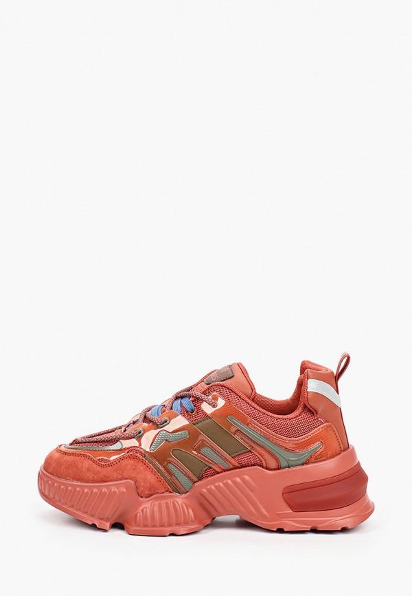 женские кроссовки strobbs, оранжевые