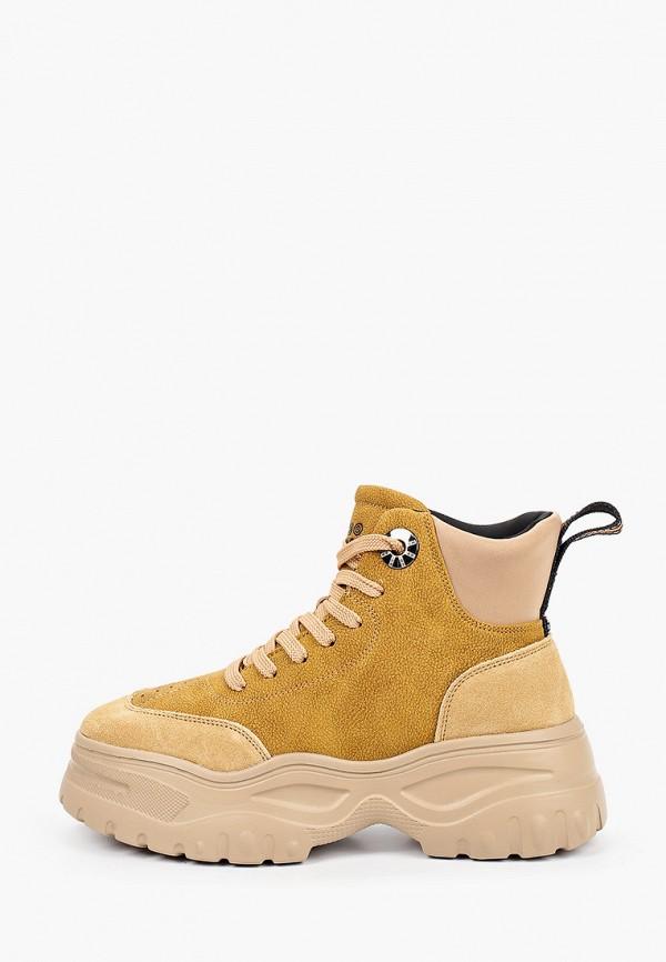 женские ботинки strobbs, желтые