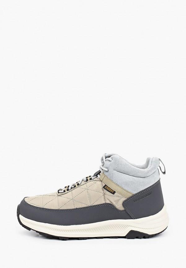 женские ботинки strobbs, серые