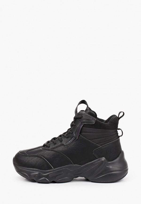 женские кроссовки strobbs, черные