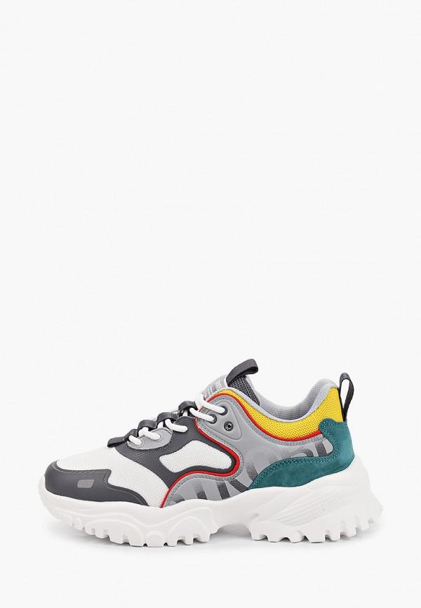 женские низкие кроссовки strobbs, разноцветные