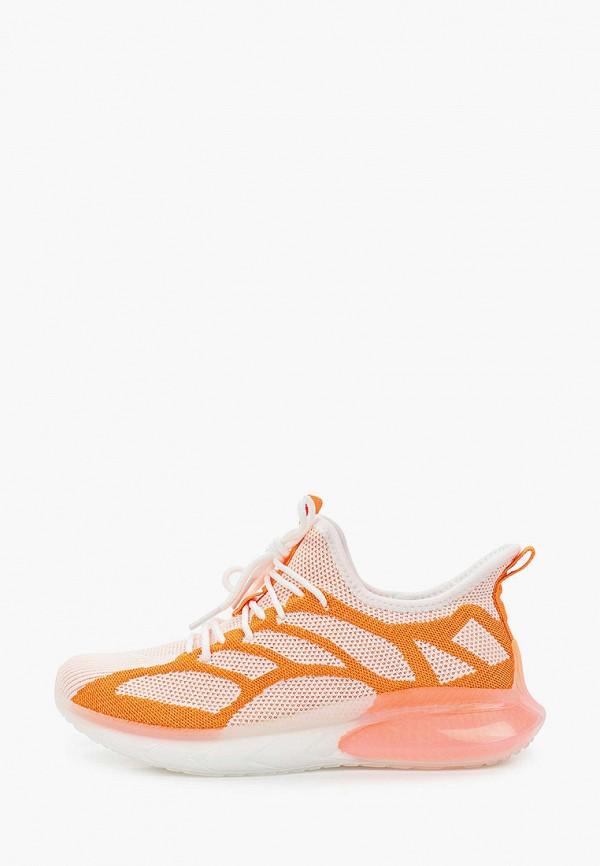 женские низкие кроссовки strobbs, оранжевые