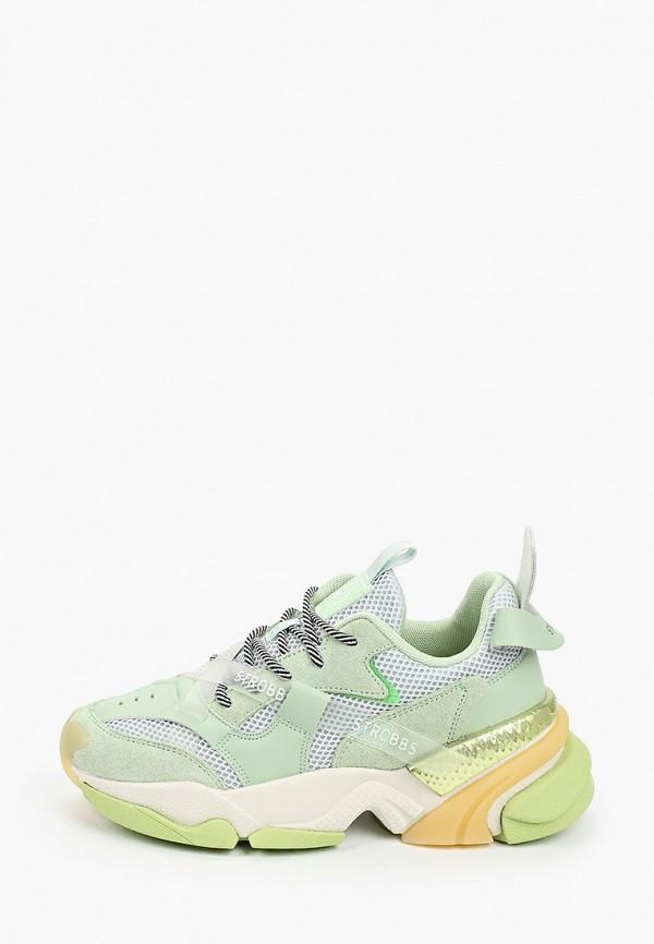 женские кроссовки strobbs, зеленые