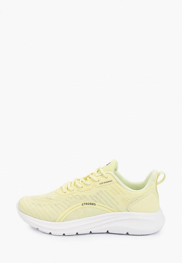 женские низкие кроссовки strobbs, желтые