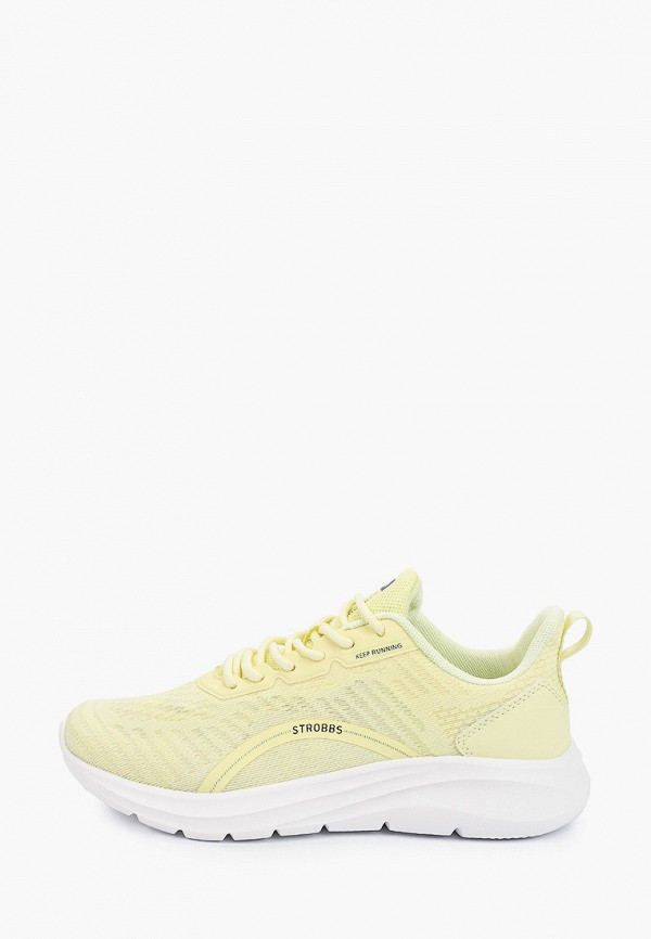 женские кроссовки strobbs, желтые