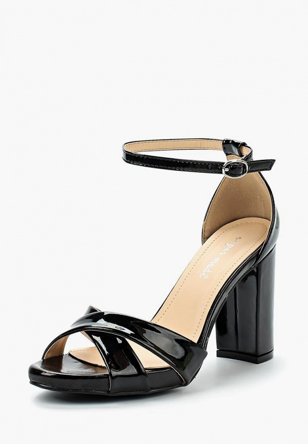 Фото 2 - Женские босоножки Super Mode черного цвета