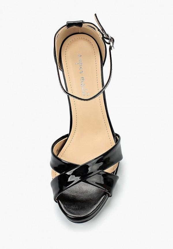 Фото 4 - Женские босоножки Super Mode черного цвета