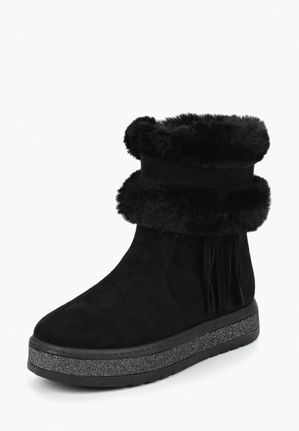 Купить Полусапоги Super Mode, su013awdasm0, черный, Осень-зима 2018/2019