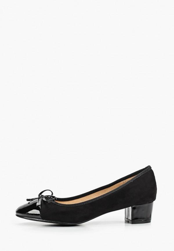 женские туфли super mode, черные