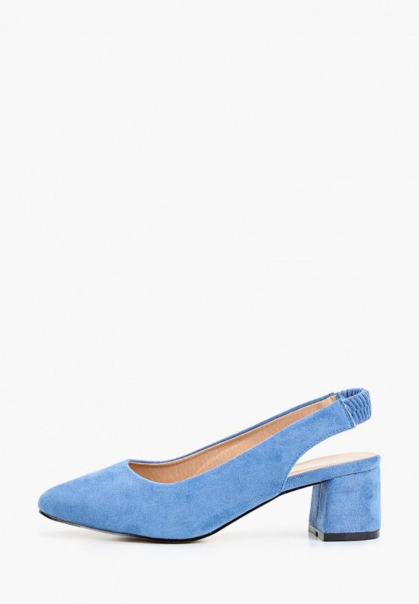 женские туфли super mode, голубые
