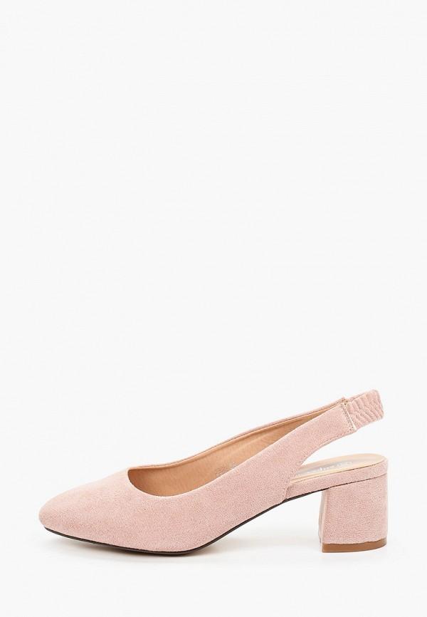 женские туфли super mode, розовые