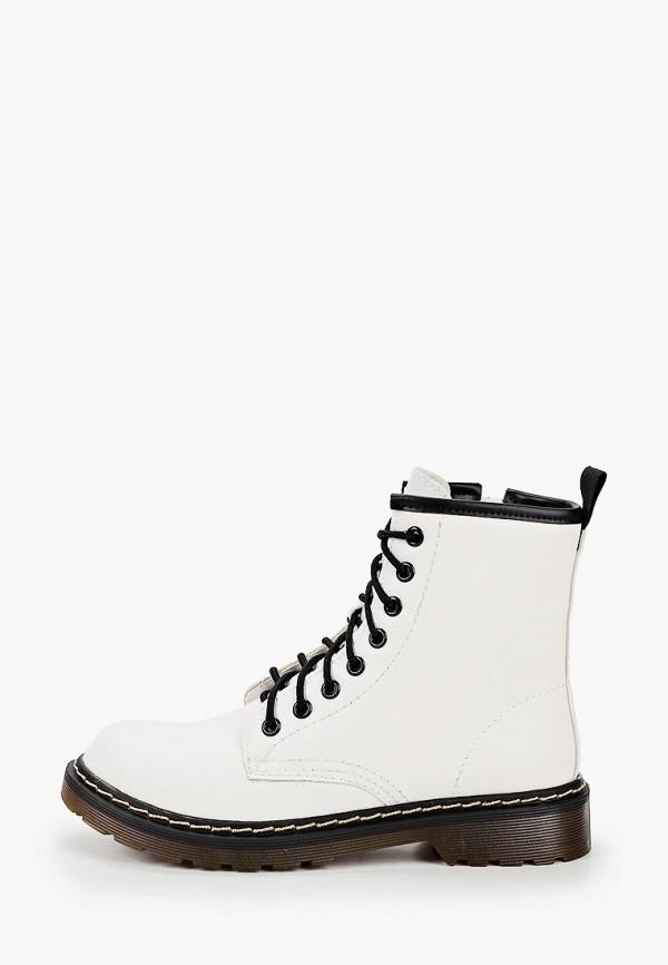 женские ботинки super mode, белые