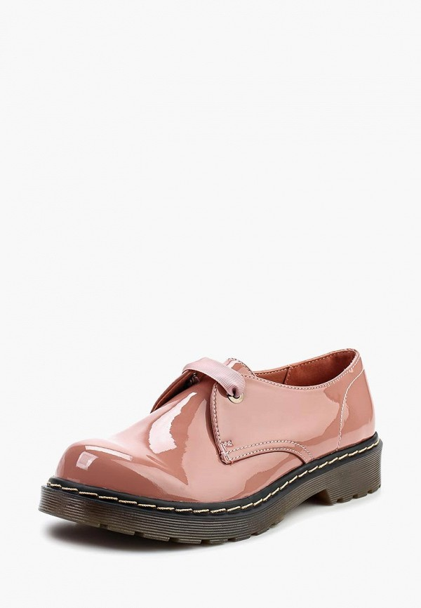 женские ботинки super mode, розовые