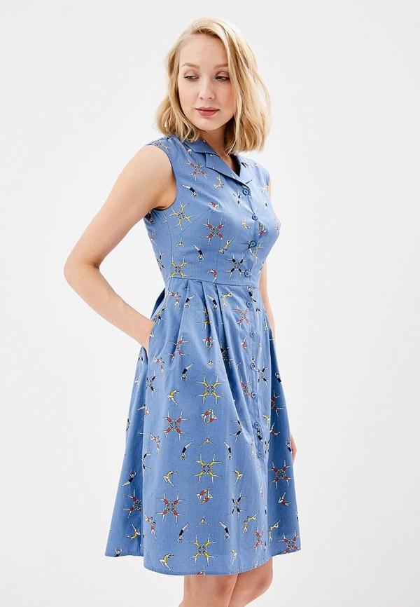 Купить Платье Sugarhill Boutique, su017ewbbpv7, синий, Весна-лето 2018