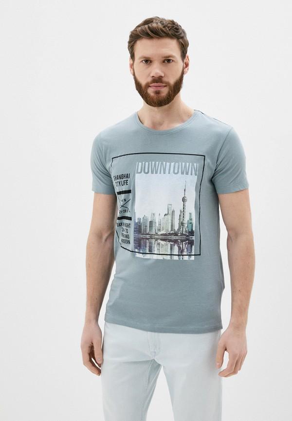мужская футболка с коротким рукавом sublevel, серая