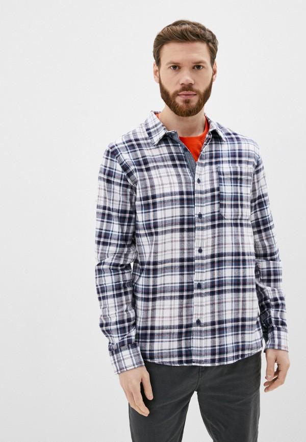 мужская рубашка с длинным рукавом sublevel, синяя