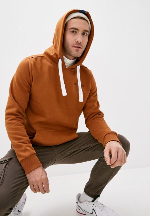 мужские худи sublevel, коричневые