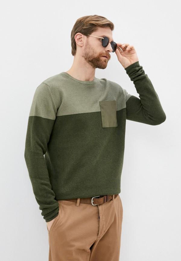 мужской джемпер sublevel, зеленый