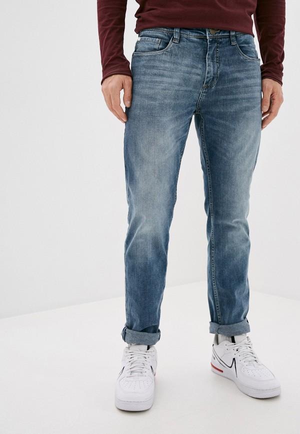 мужские зауженные джинсы sublevel, голубые