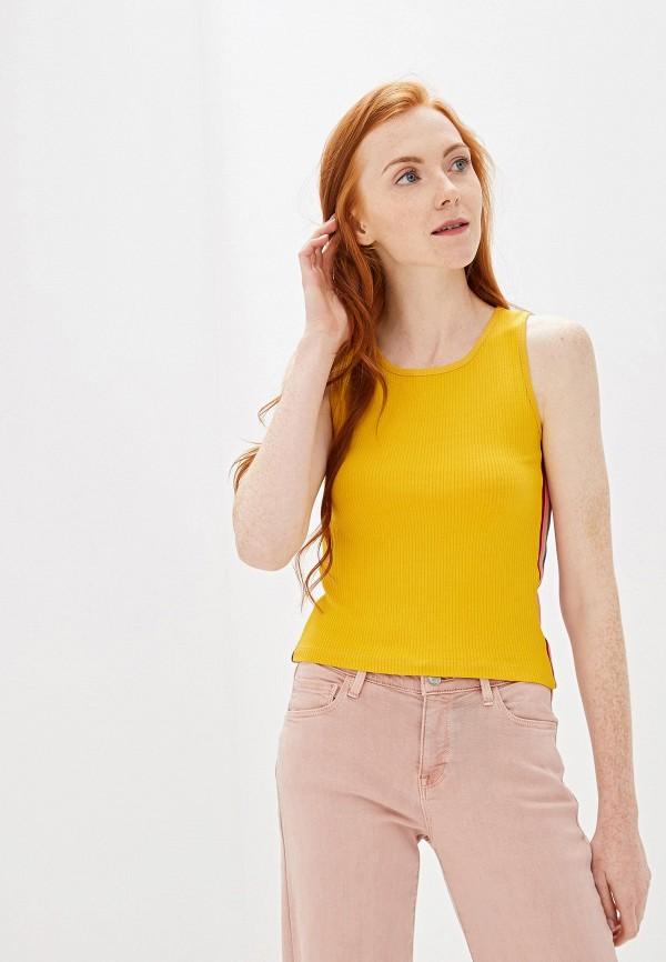 женский топ sublevel, желтый