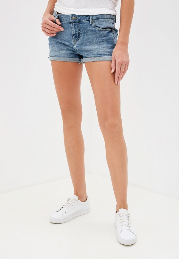 женские джинсовые шорты sublevel, синие