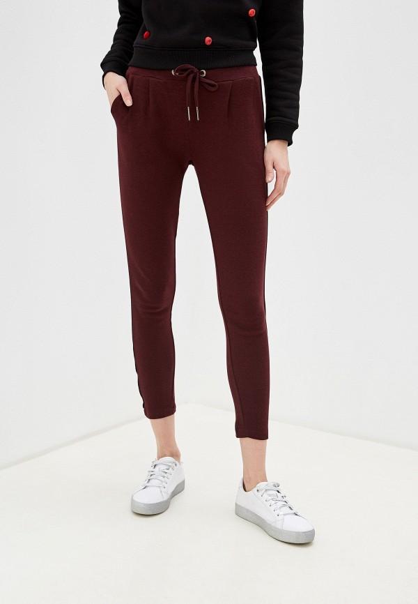 женские спортивные брюки sublevel, бордовые