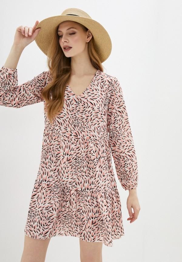 женское повседневные платье sublevel, розовое