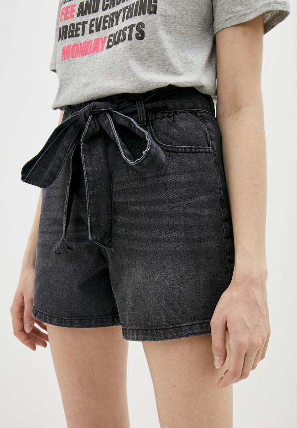 женские джинсовые шорты sublevel, черные