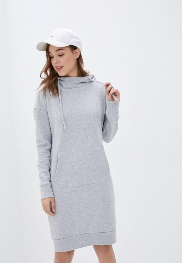женское платье sublevel, серое