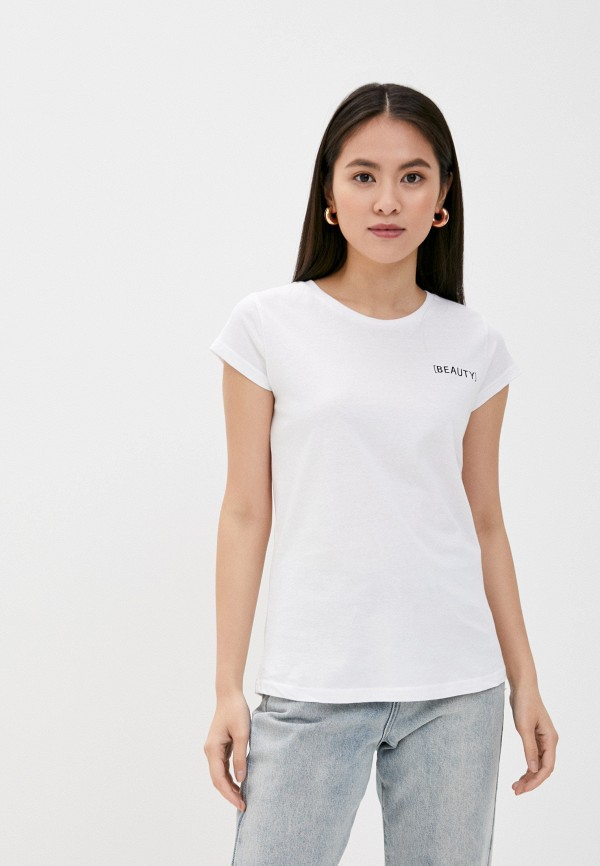 женская футболка sublevel, белая
