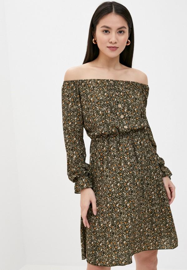 женское платье sublevel, зеленое