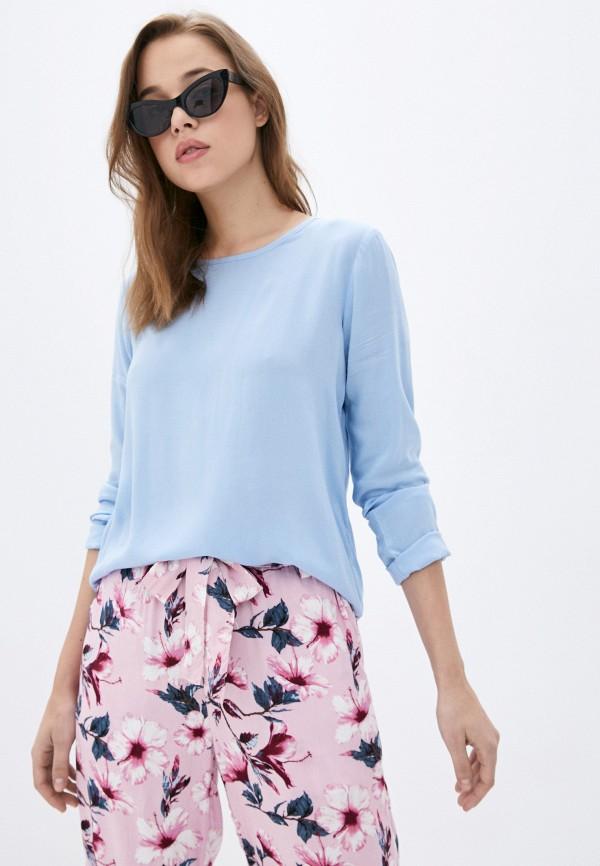 женская блузка sublevel, голубая