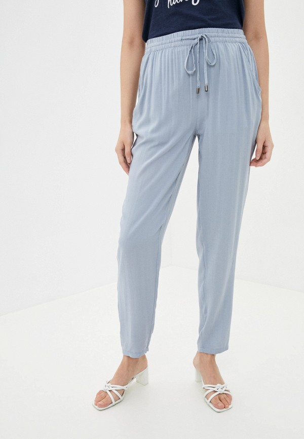 женские брюки sublevel, голубые